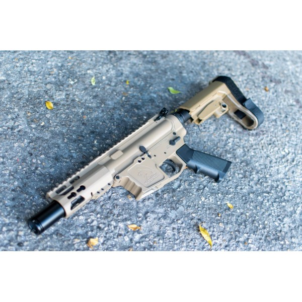 "MA-9 9MM 4"" ENHANCED SPORTING SERIES MINI GLOCK STYLE PISTOL / SBA3 / FDE / NON-LRBHO"